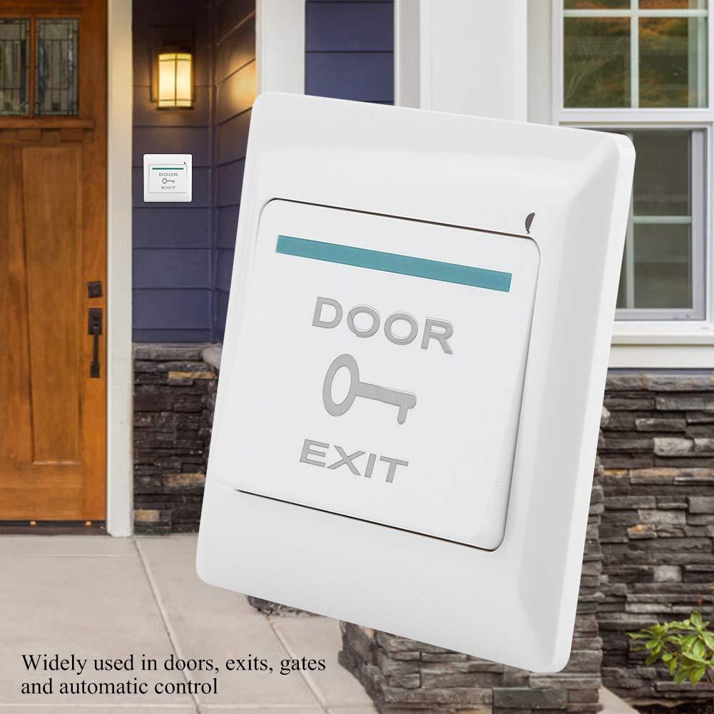 Pulsante di apertura porta Sistema di apertura uscita push per controllo accessi porta con pannello in plastica per Office Exits Mall