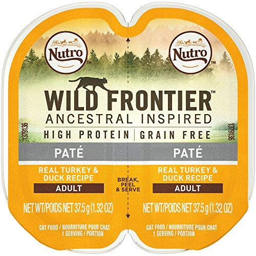Nutro Wild Frontier High Protein Grain Free Wet Cat Food