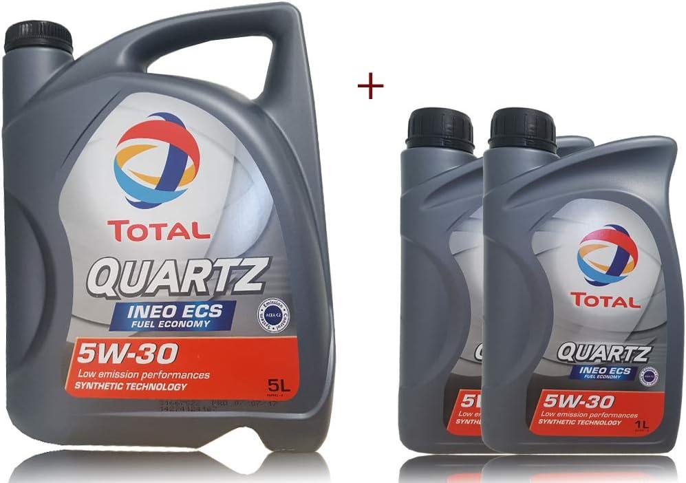 7 Litre Total Quartz Ineo Ecs Engine Oil 5w 30 Auto