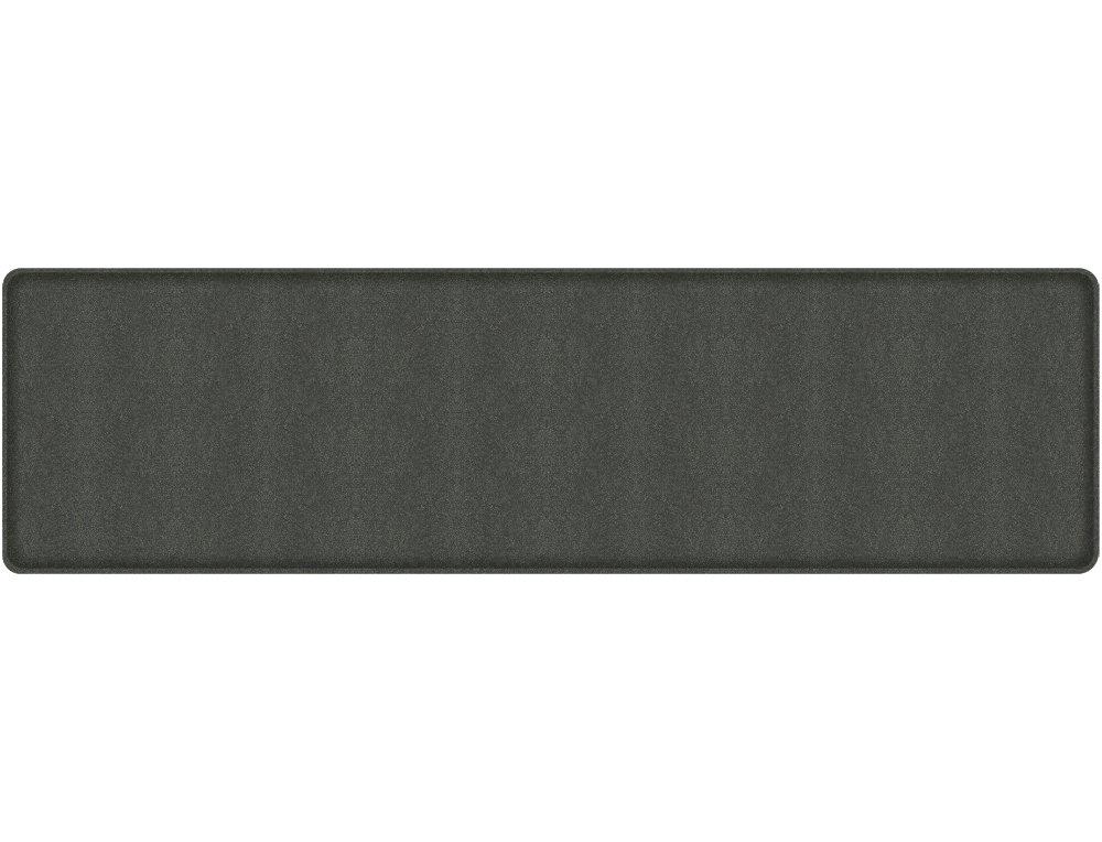 Gelpro Plush Floor Mat, 20x48, Shagreen Black Knight Let' s Gel Inc 105-24-2048-1