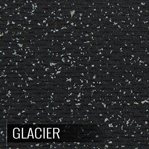 3//8 Center, Black IncStores Extra Large 4x4 Heavy Duty Rubber Gym Flooring Tiles