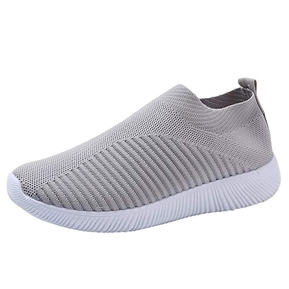 Amazon.com: Hunzed Women Shoes Breathable Comfort Lightweight Mesh Flat Running Shoes Casual Womens Shoes: Arts, Crafts & Sewing