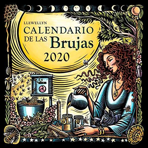 Calendario de Las Brujas 2020 por Llewellyn
