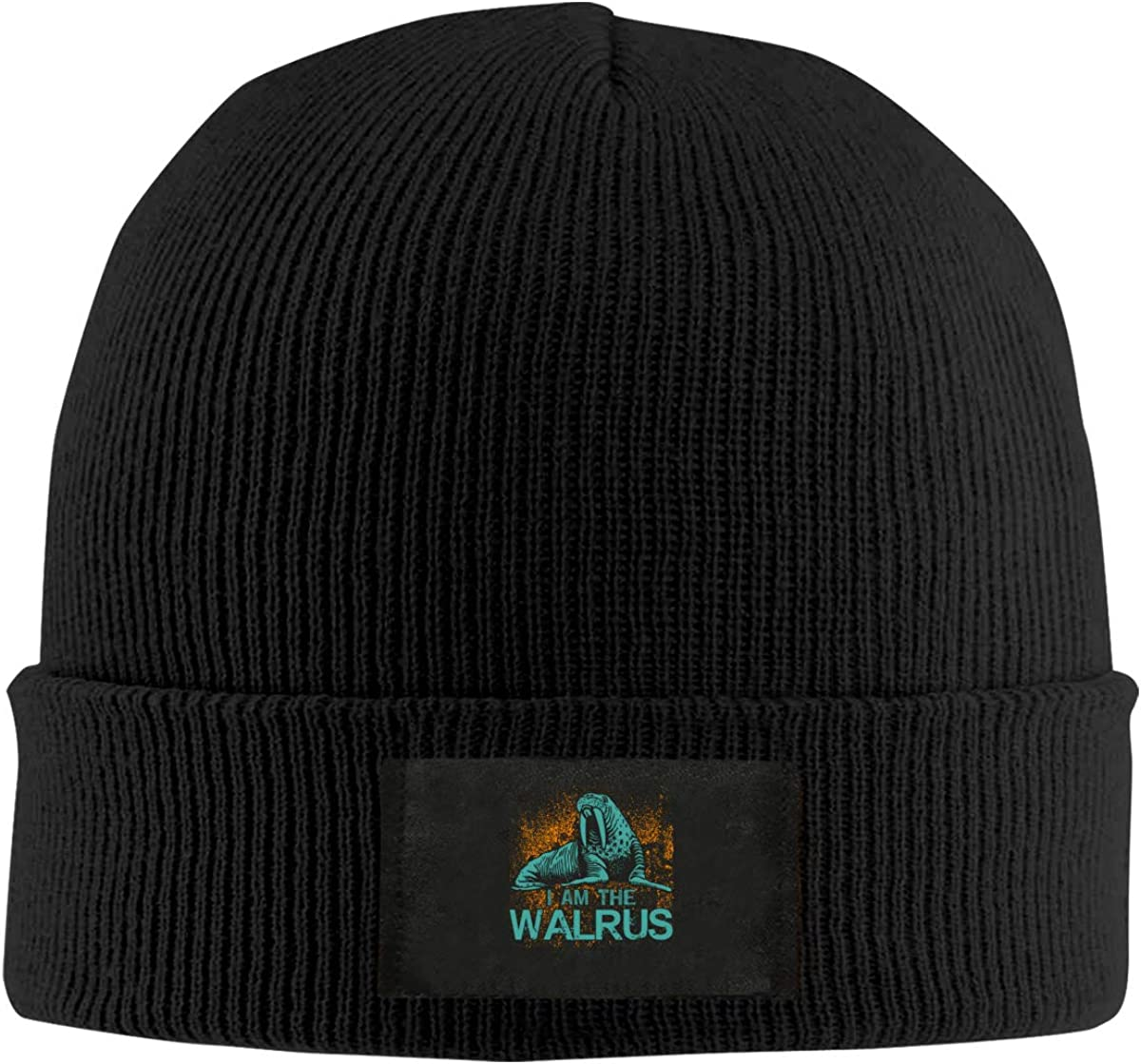 Negi Funny Pattern Whale Mens Casual Beanie Caps Knit Hat for Christmas