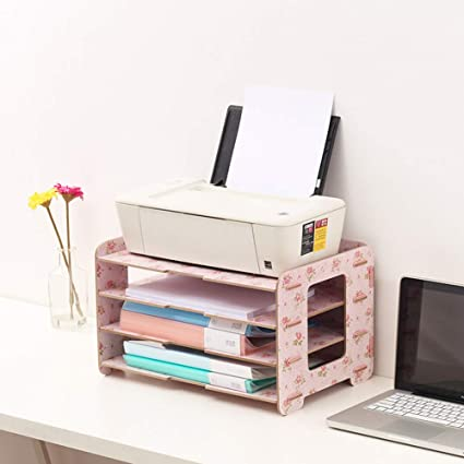Amazon.com: A3 File Holder Printer Shelf Desktop Office ...