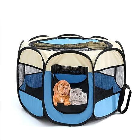 Tunya - Parque de Juegos Plegable para Mascotas, Jaula de ...