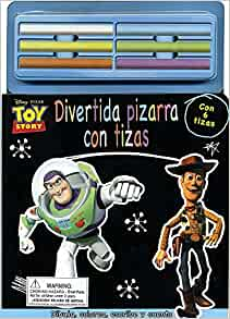 Disney Toy Story: Divertida pizarra con tizas (Spanish ...