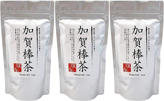 加賀棒茶270g (90g×3パック) | 石川加賀焙煎 | 厳選された香り | チャック付きスタンドパック入