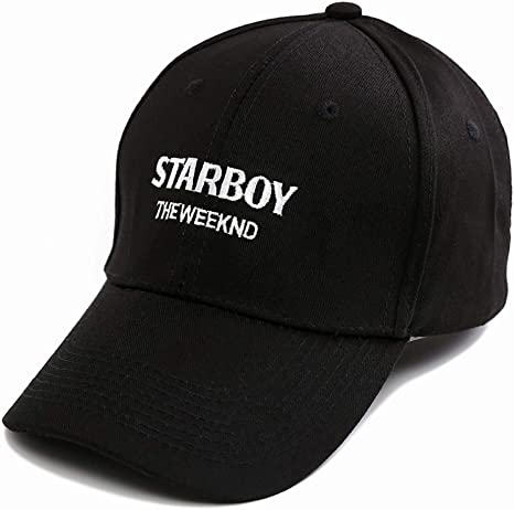JKYJYJ Gorra De Beisbol The Weeknd Starboy Sombreros Marca Algodón ...