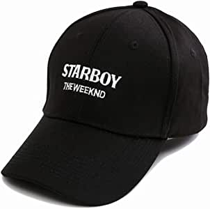 JKYJYJ The Weeknd Starboy Hats Marca 100% Algodón Gorras XO Papá ...