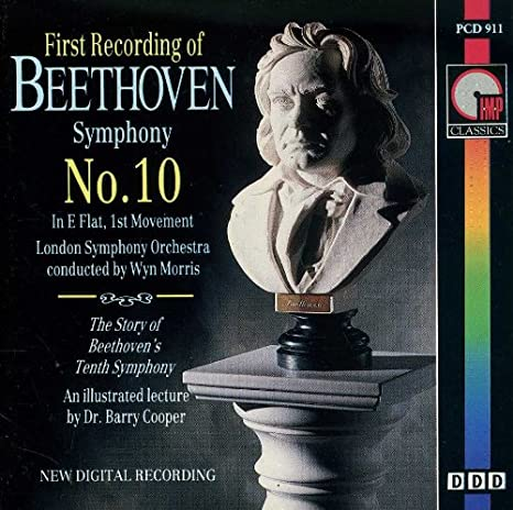 Beethoven: First Recording of Symphony No. 10 in E flat, 1st Movement by  Ludwig van Beethoven. CAT NO PCD 911.: Amazon.it: Musica