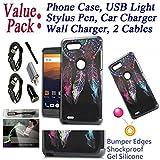 zte emblem phone cases - Value Pack + for 6