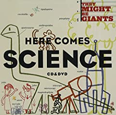 "GRAMMY winners, They Might Be Giants take a fun, creative look at science in Here Comes Science . The video for ""Meet the Elements"" was featured on boingboing.net, while the legendary rock version of ""Why Does the Sun Shine? (The Sun is a Mas..."