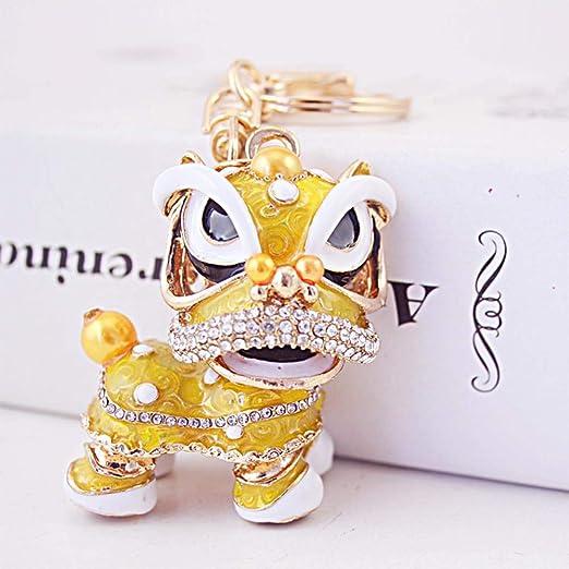Ou lida Diamante Feng Shui Unicornio león Danza aleación ...