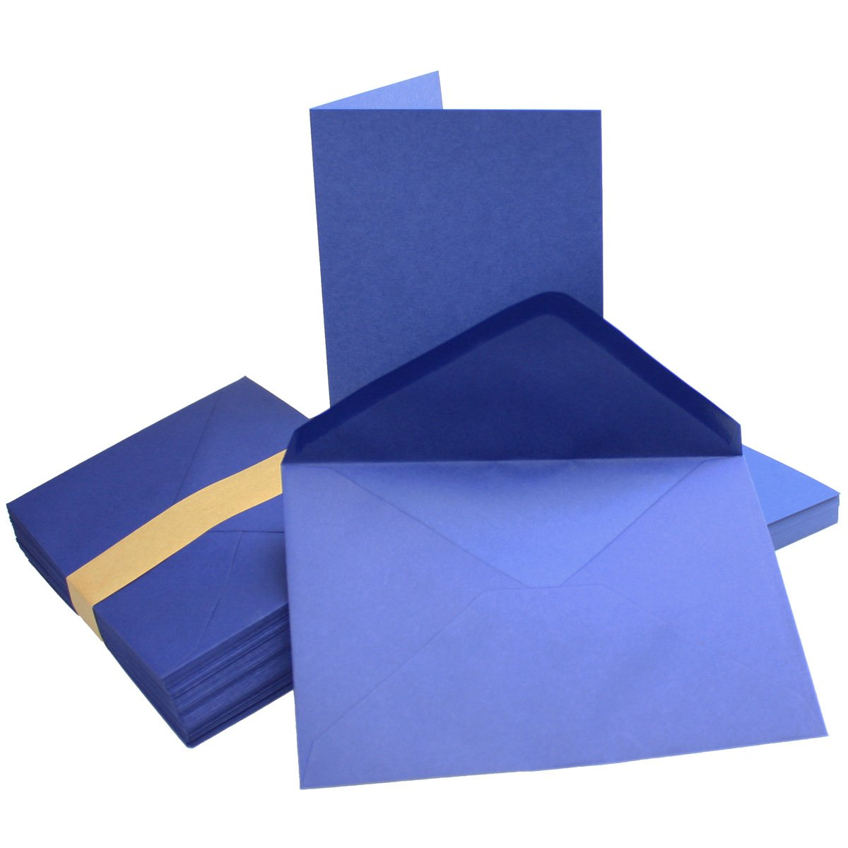 75 Sets - Faltkarten Hellgrau - Din A5  Umschläge Din C5 - Premium Qualität - Sehr formstabil - Qualitätsmarke  NEUSER FarbenFroh B07BSFWXVC   New Style