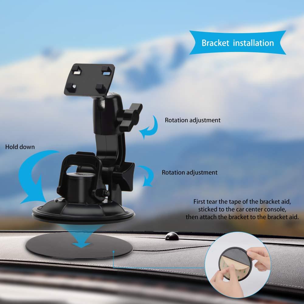 con Parasol Navegador Bluetooth para cami/ón con c/ámara de Marcha atr/ás de 9 Pulgadas navegaci/ón GPS 2019 Satnav para Coches autobuses Camiones