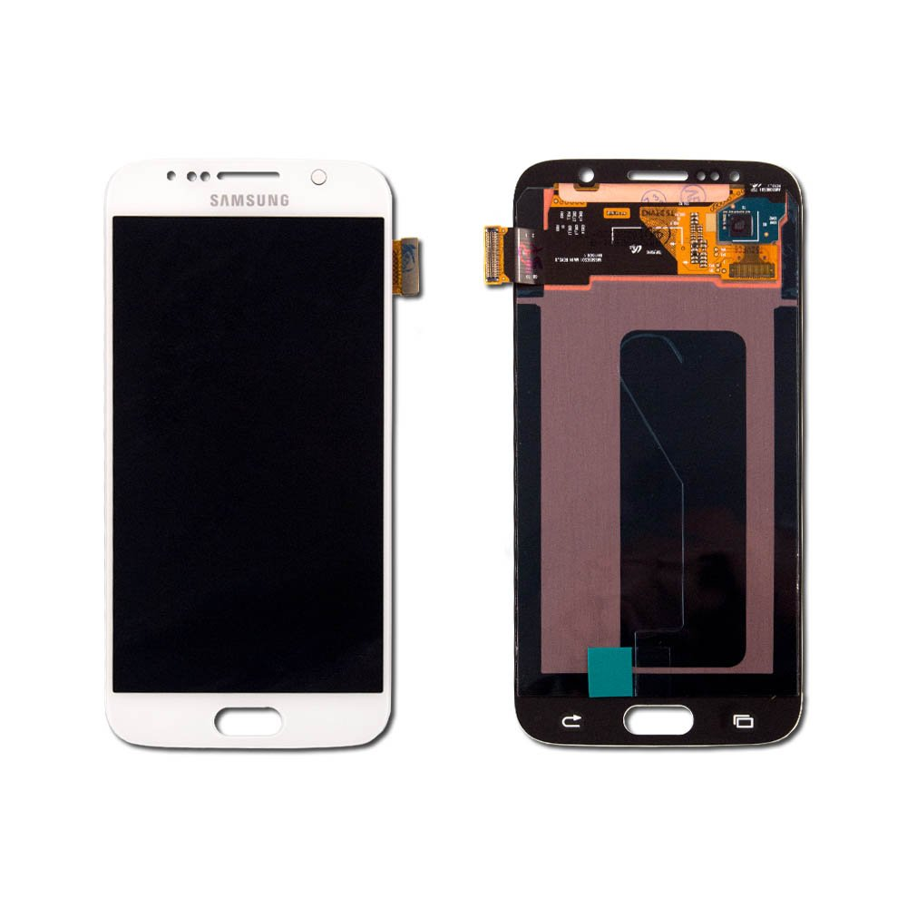 Touch Screen Digitizer and LCD for Samsung Galaxy S6 - White