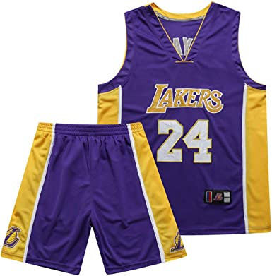 Chaleco Transpirable Deportivas de Jersey Swingman Basketball Jersey Lakers #24 Bryant Camiseta de Jugador de Baloncesto para Hombres Camiseta con Bordado Camiseta de los fan/áticos