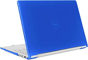 "mCover Hard Shell Case for 13.3"" Dell Inspiron 13 7391 2-in-1 Convertible Laptop Computers (Blue)"
