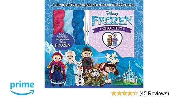 disney frozen crochet box set