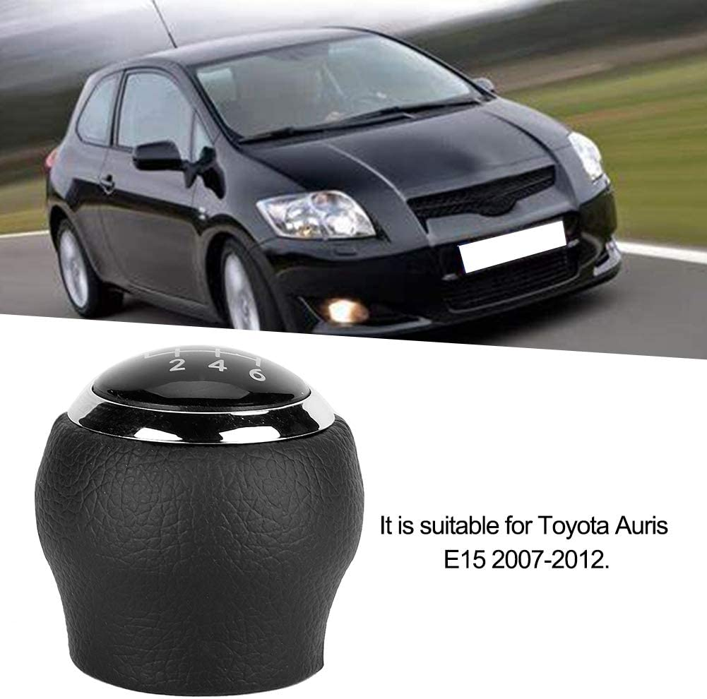 Suuonee Gear Shift Head Modificaci/ón del coche Gear Stick Shift Knob Head para Auris Type C 6 Speed