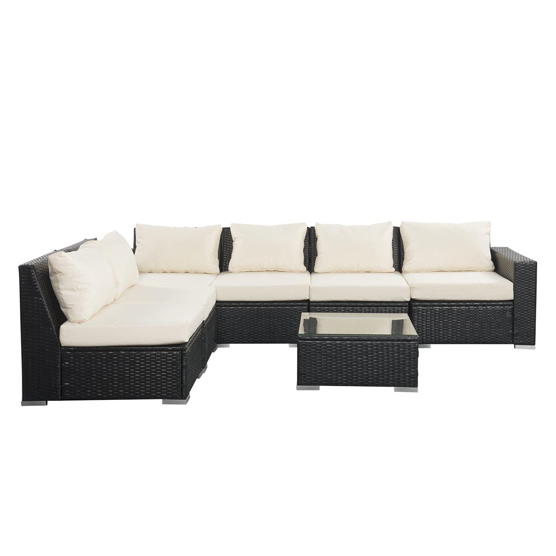 Enjoyable Amazon Com Wonlink Patio White Wicker Rattan Furniture Uwap Interior Chair Design Uwaporg