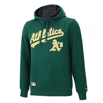 A NEW ERA Era Ne92236Fa16 MLB Po Oakath Sudadera-Línea Oakland Athletics, Hombre, Verde (Dark Green), XL: Amazon.es: Deportes y aire libre