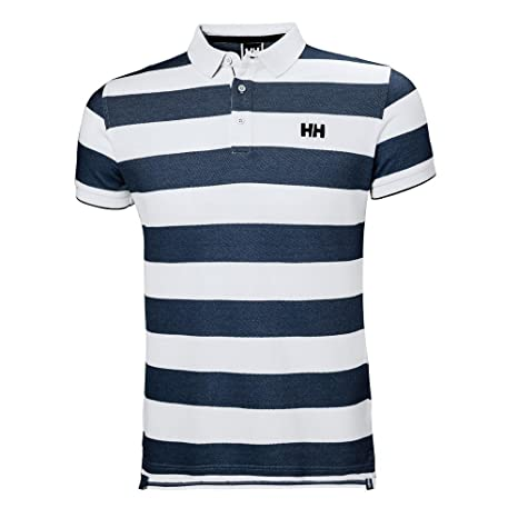Helly Hansen MARSTRAND Polo - Polo, Hombre, (599 Navy Stripe ...