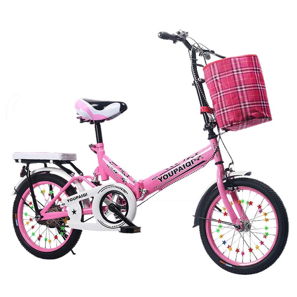 ウイスキー専門店 蔵人クロード 子供の自転車 子供の屋外ペダル自転車 ファッション男の子と女の子のアウトドアサイクリング自転車 2-10子供の自転車 折りたたみ式 inches (Color : Pink, B07PY3STLV Size Pink, : 16 inches) 16 inches Pink B07PY3STLV, まちのみしんやさん:f8c36408 --- senas.4x4.lt