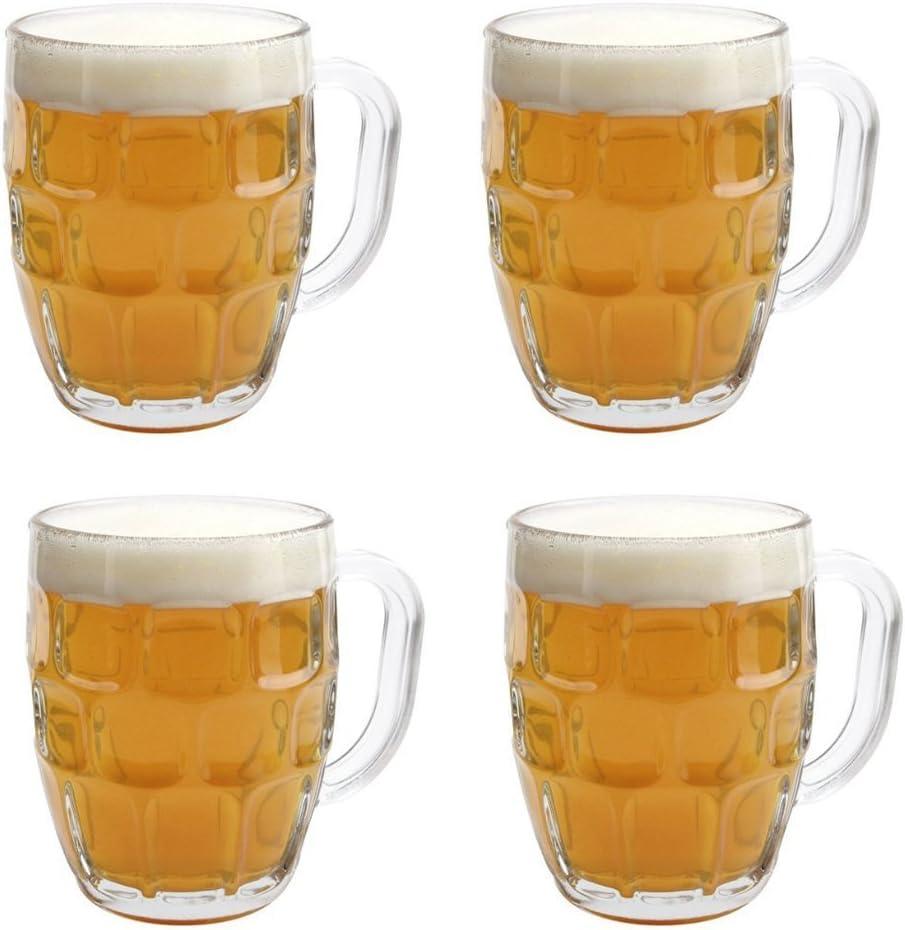 Libbey Dimple Stein Beer Mug - 19.25 oz (Pack of 4)