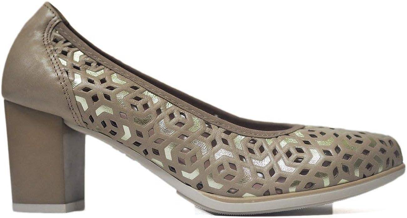 Zapatos Pitillos 6050 Crema