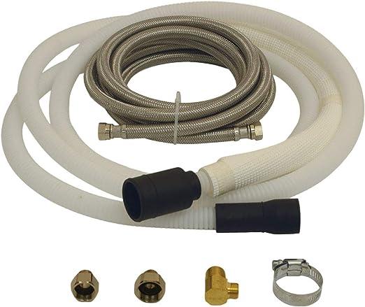 Eastman 69006 kit de desagüe y lavavajillas de acero inoxidable ...