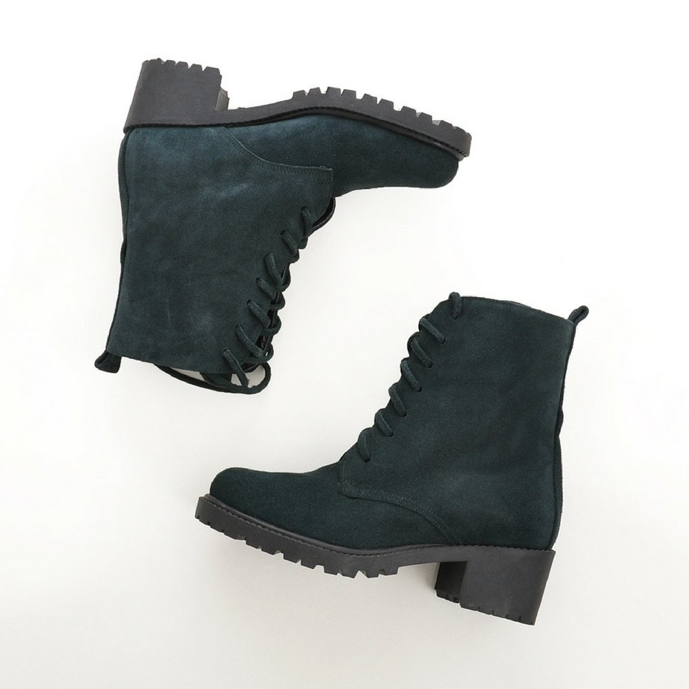 Essenza schuhe Classic Ankle Stiefel, Stiefel, Stiefel, Damen Stiefel & Stiefeletten Grün Khaki 48a134