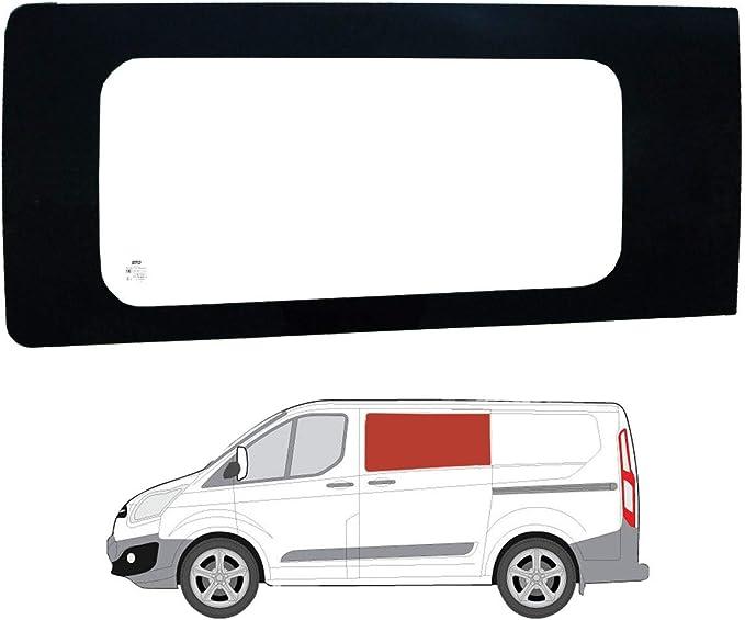 Mano izquierda ventana de fijo transparente para puerta corredera Ford Transit Custom: Amazon.es: Coche y moto