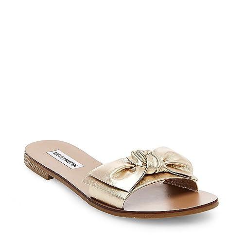 9da769ad573 Steve Madden Women's Knotss Flat Sandal