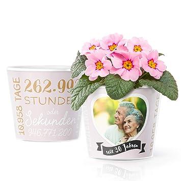 30 Hochzeitstag Geschenk Blumentopf O16cm Deko Geschenke Zur