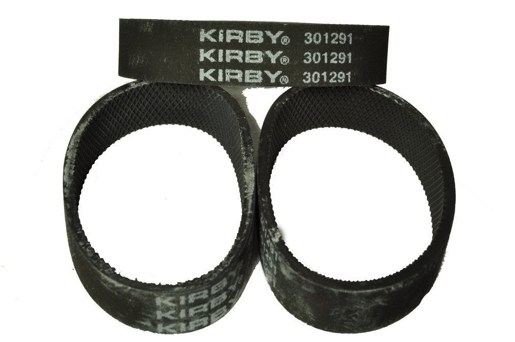 Kirby Ribbed Vacuum Cleaner Belt, Fits: all Kirby upright vacuum cleaners 1960 to present, Kirby Number on belt 301291, 6 belts in pack