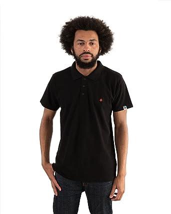 696ed6a5c Etiko Organic Fairtrade Men's Unisex Polo Cotton Short-Sleeve T-Shirt,  Regular-