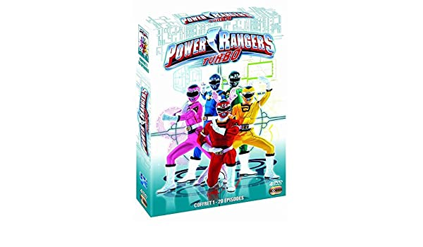 Power Rangers : Turbo [Francia] [DVD]: Amazon.es: Blake Foster, Gregg Bullock, Carol Hoyt, Donene Kistler, Jason Narvy, Derek Stephen Prince, ...