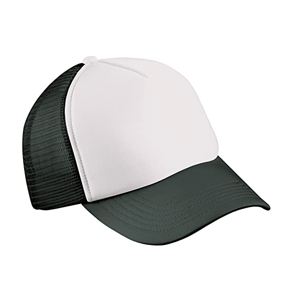 3f3eb770427 Myrtle Beach Trendy 5 panel mesh cap in many colour combinations (white  black)