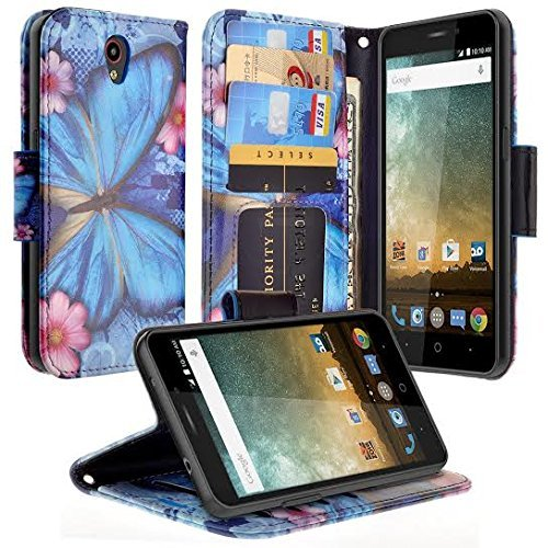 zte prelude phone case wallet - 1