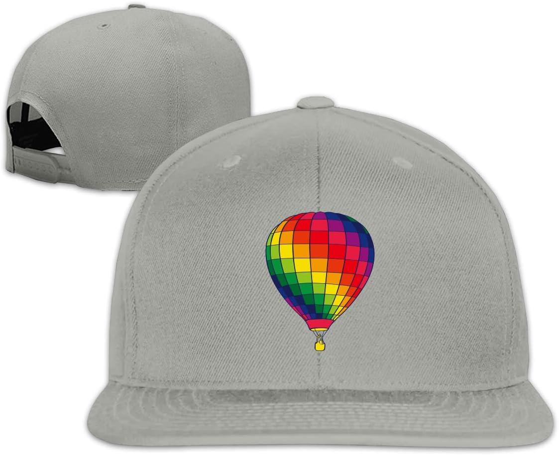 MOCSTONE Unisex Snapback Hat Fire Balloon Adjustable Baseball Cap
