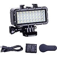 Suptig Light High Power Dimbare Waterdichte LED Video Light Vullen Nachtlampje Dompelen Onderwater Licht Waterdicht…