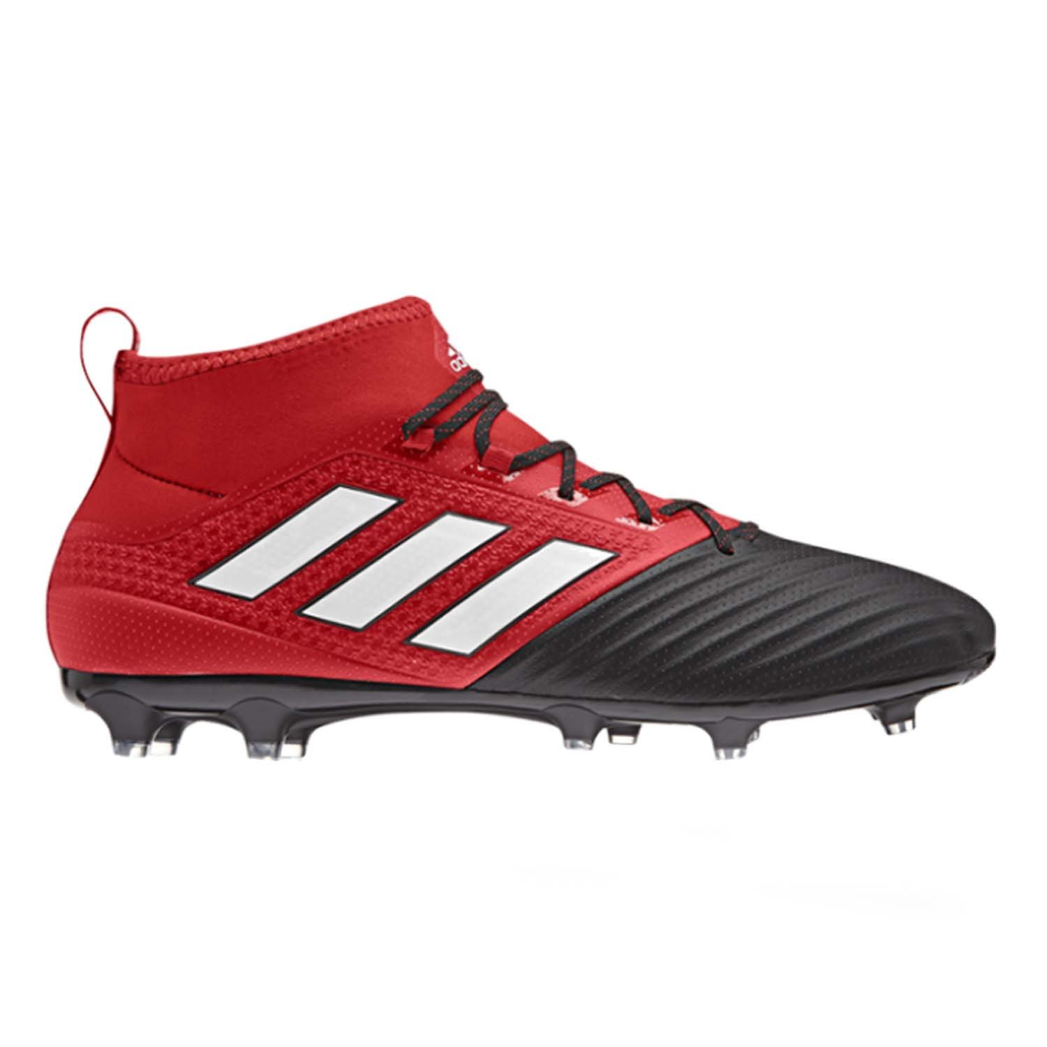 adidas Men's Ace 17.2 Primemesh Fg Soccer Shoe, Red/White/Black, (11 M US)