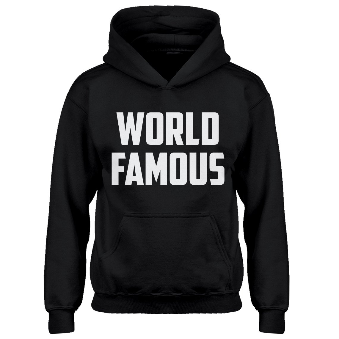 Indica Plateau Youth World Famous Kids Hoodie