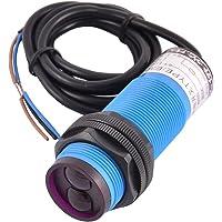 sourcingmap® Interruptor 6-36VDC rayo infrarrojo fotoeléctrico E30-DS100PA 3-120cm