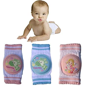 ShenyKan Toddler Kids Kneepad Protector Thickened Terry Non-Slip Safety Crawling Baby Leg Warmers Knee Pads Unisex For Child