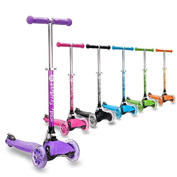 Amazon.com: 3StyleScooters RGS-1 Little Kids Three Wheel ...