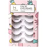 LANKIZ 3D Mink lashes Handmade Eyelashes Luxurious Natural Look False Lashes Soft Reusable 5 Pairs