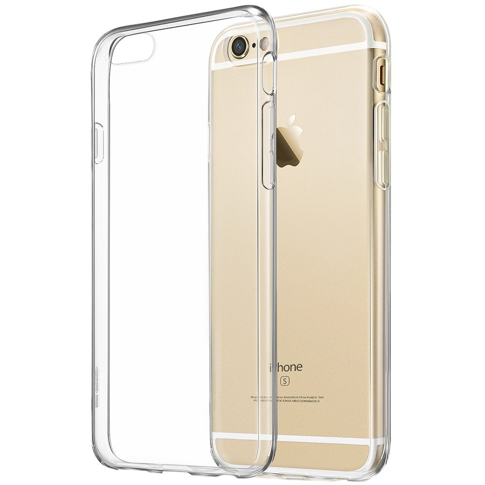 iPhone 6 Case, iPhone 6s Clear Case, ESR Crystal Clear Shock Absorption TPU Bumper + Clear Hard PC Back Cover for Apple iPhone 6S (2015)/6 (2014) (Crystal Clear) Electronic Silk Road Corp